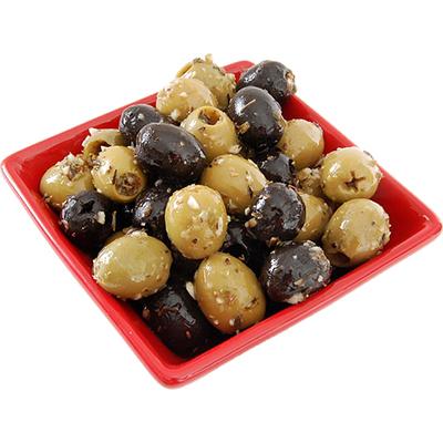 Valkosipuli oliivi-mix
